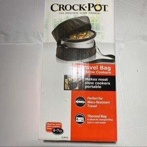 Crock pot thermal travel bag for 7qt